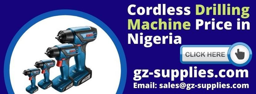 Cordless Drilling Machine Price in Nigeria
