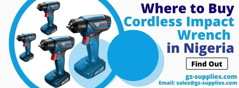 Where to Buy Cordless Impact Wrench in Nigeria