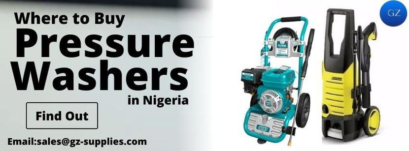 Where to Buy Pressure Washers in Nigeria