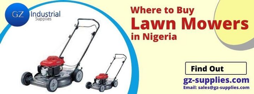 Where to buy Lawn Mowers in Nigeria