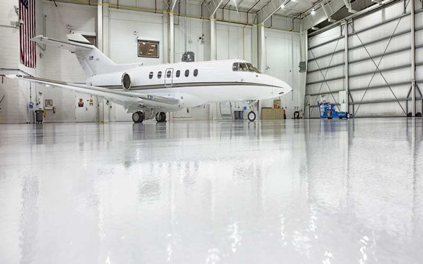 ​Epoxy Floor Coating For Aircraft Hangar