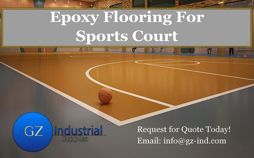 ​Epoxy Flooring For Sports Court