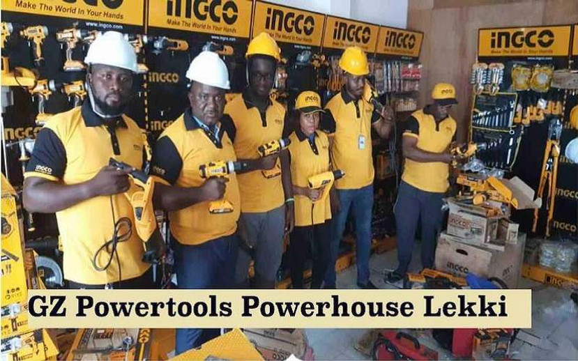 ​GZ INDUSTRIAL SUPPLIES LIMITED POWER TOOLS SHOWROOM IN LEKKI OPEN FOR BUSINESS
