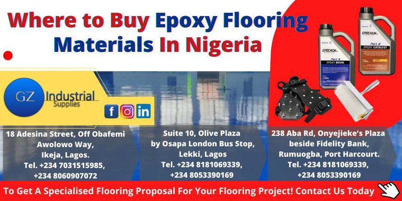 Where to Buy Epoxy Flooring Materials In Nigeria