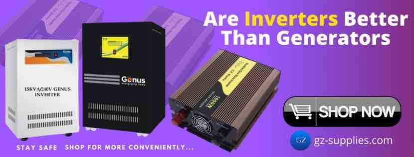 ARE INVERTERS BETTER THAN GENERATORS?