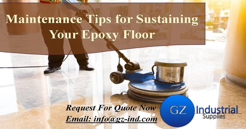 Maintenance Tips for Sustaining Your Epoxy Floor