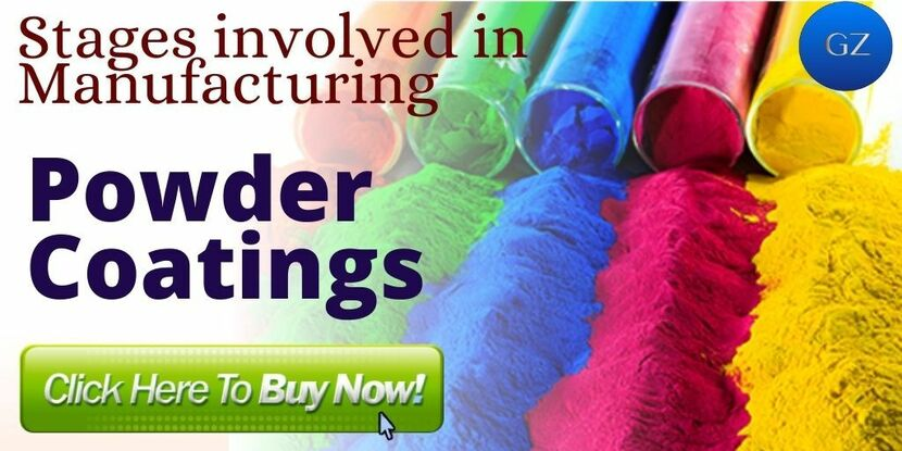 Stages in Manufacturing Powder coating