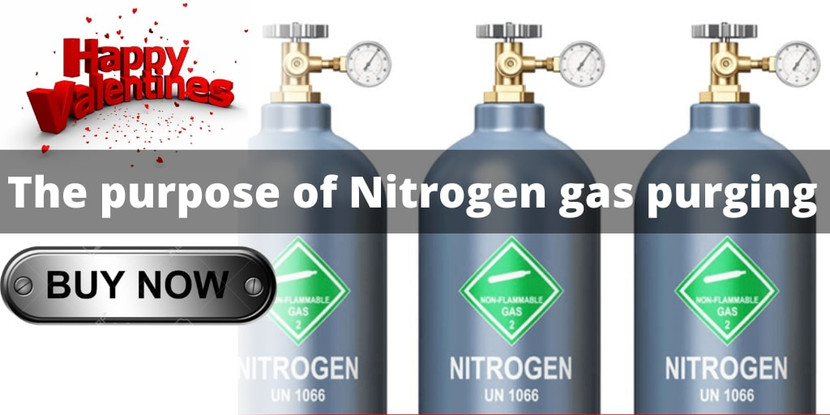 The Purpose of Nitrogen  gas  Purging