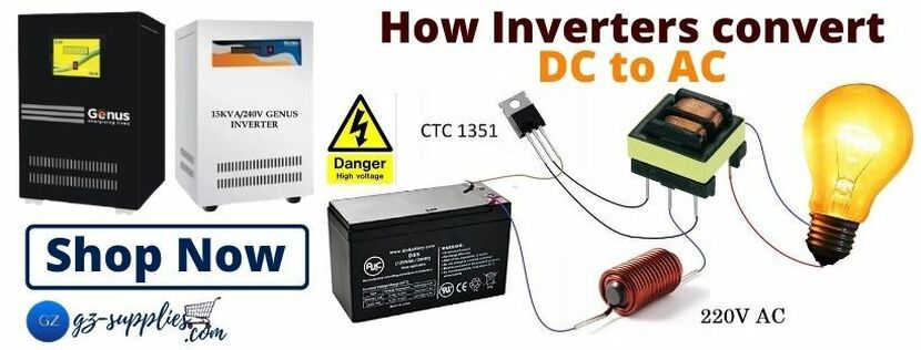 ​How Inverters converts DC to AC