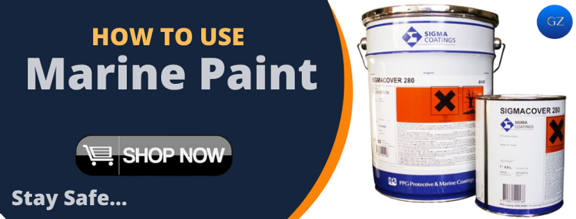 HOW TO USE MARINE PAINTS