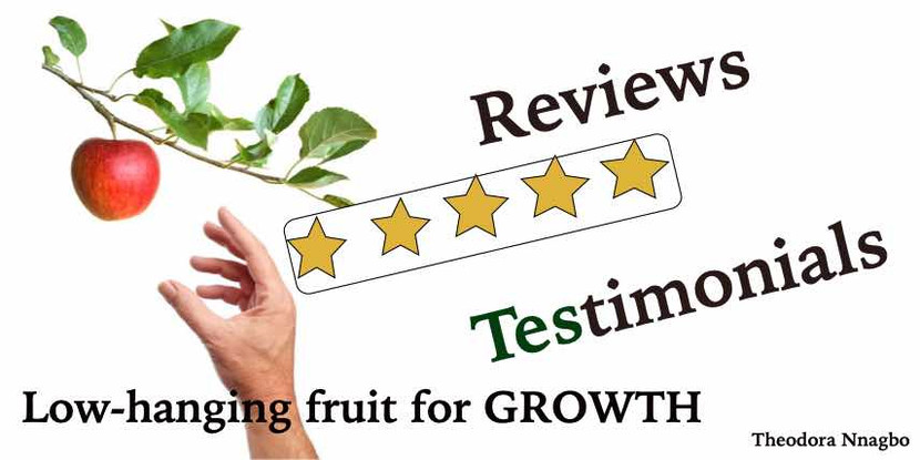 Good Reviews and Testimonials: A low hanging fruit for Growth
