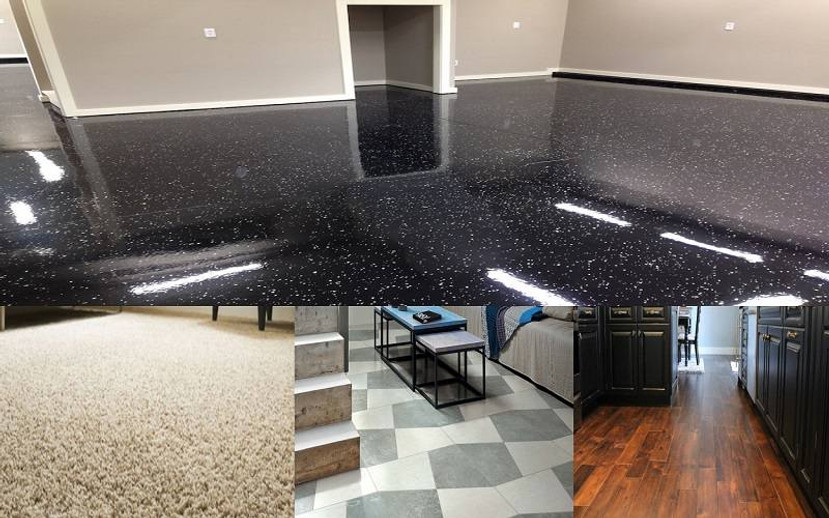 See Why Epoxy Flooring is A Superior Choice to The Most Popular Home Floor Types