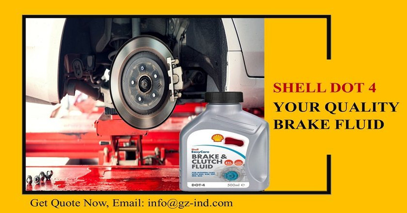 Shell Dot 4: Your Quality Brake Fluid