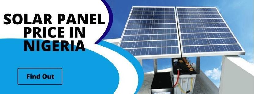 Solar Panel Price in Nigeria