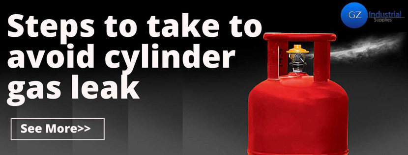 Steps to take to avoid Cylinder Gas Leak