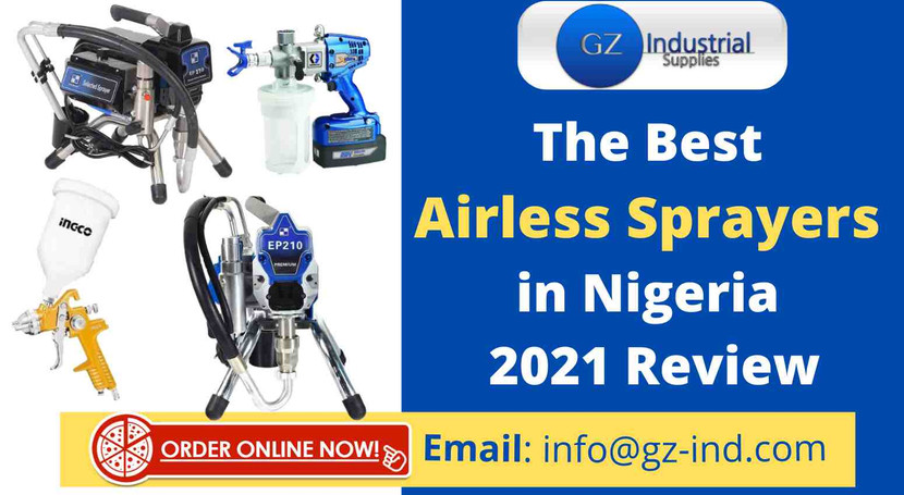 The Best Airless Sprayers in Nigeria 2021 Review