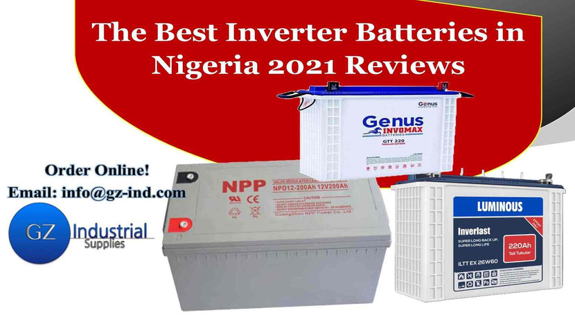 The Best Inverter Battery in Nigeria 2021 Reviews.
