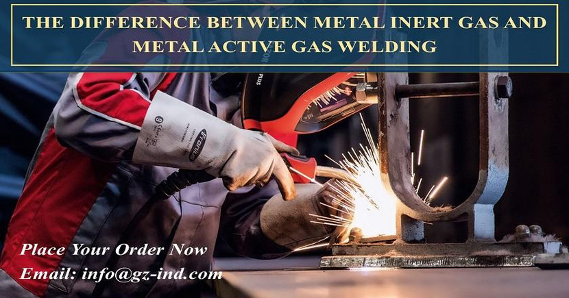 THE DIFFERENCE BETWEEN METAL INERT GAS AND  METAL ACTIVE GAS WELDING