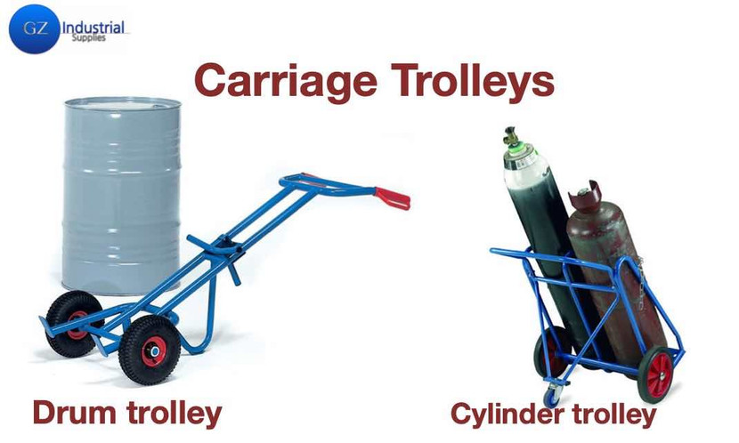 ​Industrial Carriage Trolleys for Increased factory productivity