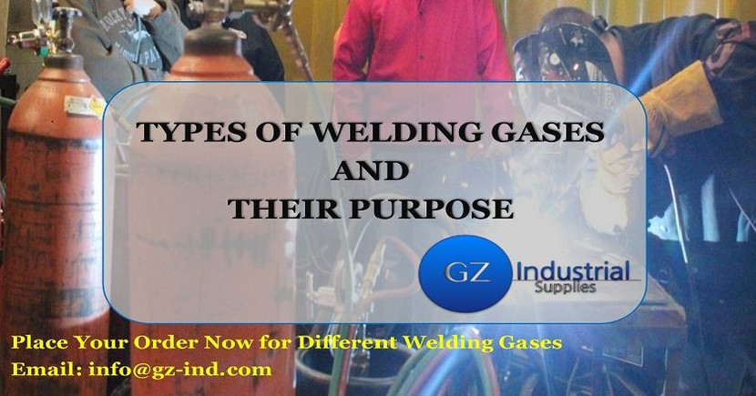 TYPES OF WELDING GASES AND THEIR PURPOSE