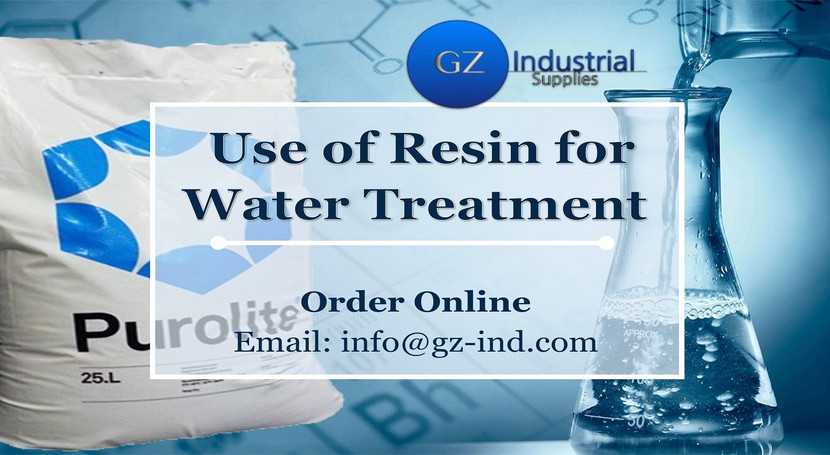 Use of Resin for Water Treatment
