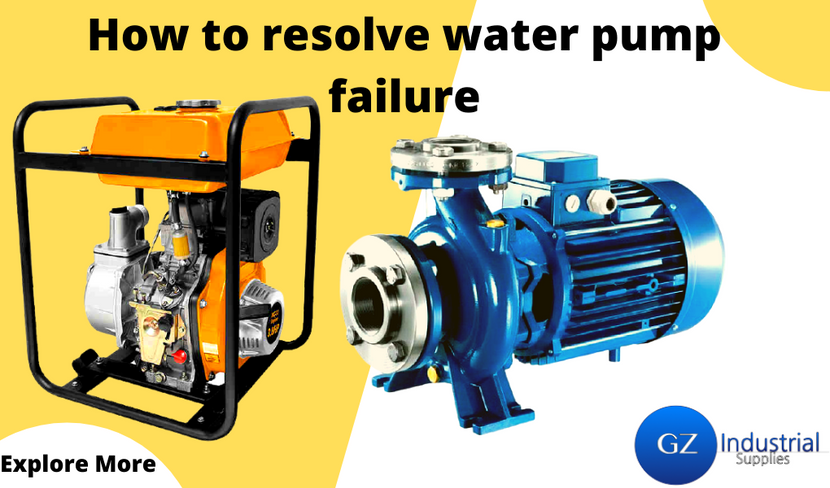 HOW TO RESOLVE WATER PUMP FAILURE