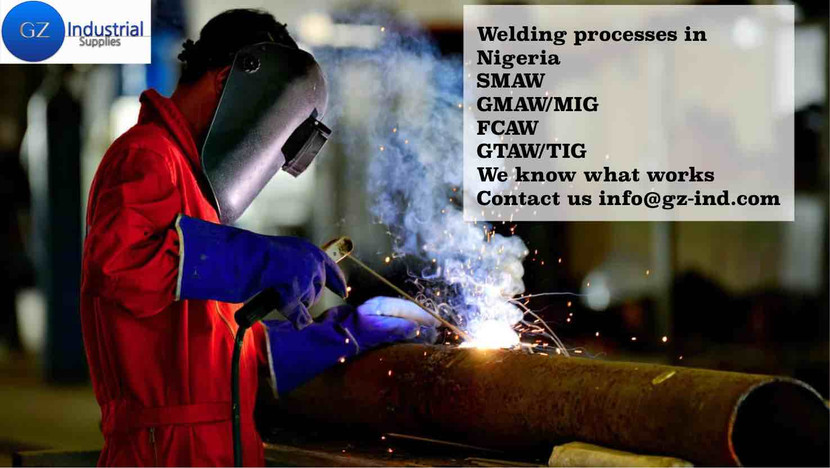 Different Types of Welding processes in Nigeria