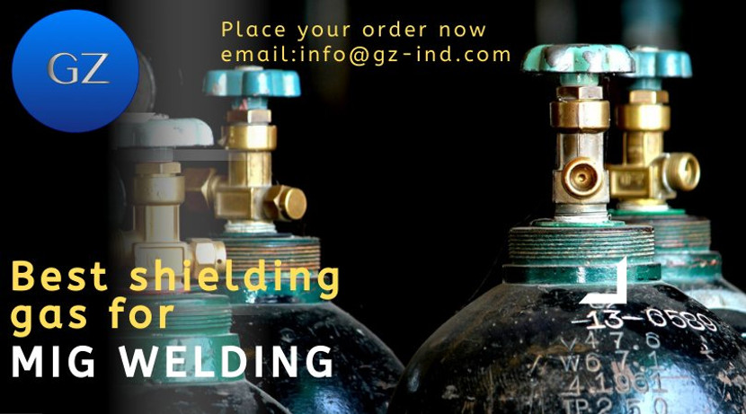 WHAT IS THE BEST SHIELDING GAS FOR MIG WELDING?