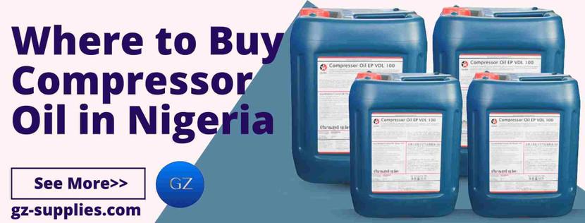 Where to Buy Compressor Oil in Nigeria