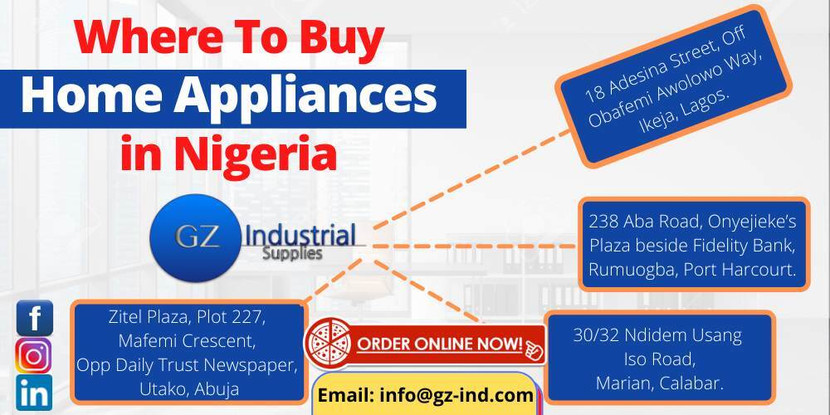 Where To Buy Home Appliances in Nigeria