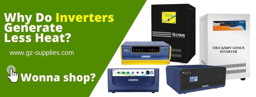 Why Do Inverters Generate Less Heat?