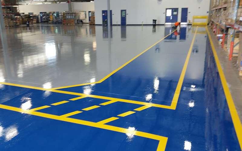 Epoxy Floor Coating For Industrial Floor