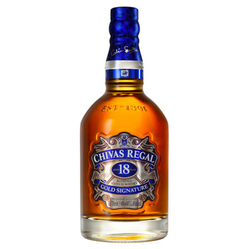 Chivas Regal Gold Signature Scotch Whisky 18 Years Old 700ml