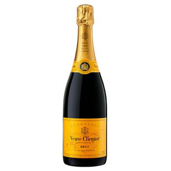 Veuve Cliquot Yellow Label Brut Non Vintage Champagne 750ml