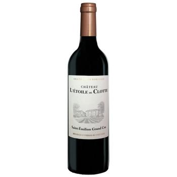 Chateau L'Etoile De Clotte Bordeaux