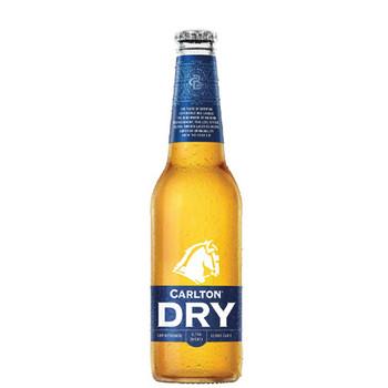 Carlton Dry Low Carb Lager Bottles 330ml