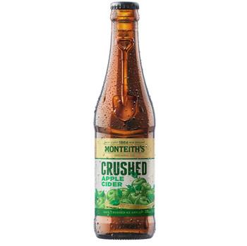Monteith's Crushed Apple Cider Bottles 330ml