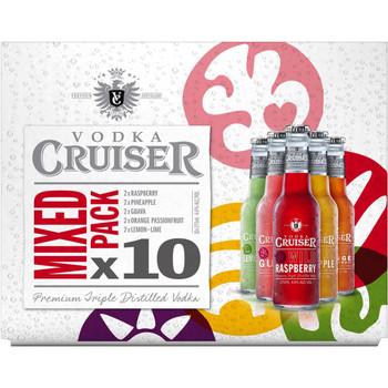 Vodka Cruiser Mixed 10 Pack 257ml