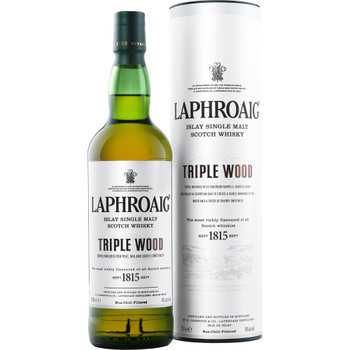 Laphroaig Triple Wood Islay Single Malt Scotch Whisky 700ml