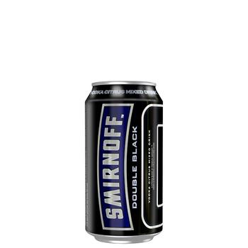 Smirnoff Double Black Ice 6.5% Cans 375ml
