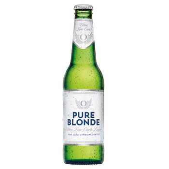 Pure Blonde Ultra Low Carb Bottles 355ml