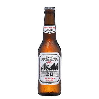 Asahi Super Dry Lager Bottles 330ml