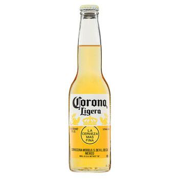 Corona Ligera Lager Bottles 355ml