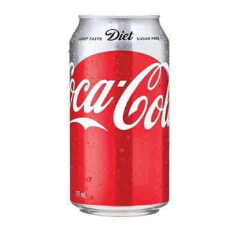 Coca Cola Diet Can 375ml