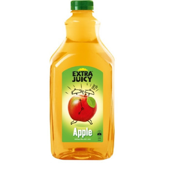 Extra Juicy Apple Juice Long Life PET Bottle 2.4l