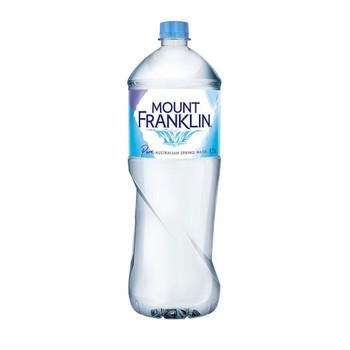 Mount Franklin Still Water PET Bottle 1.5l