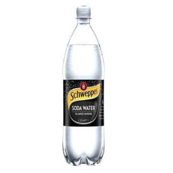 Schweppes Soda Water PET Bottle 1.1l