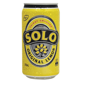 Schweppes Solo Cans 375ml