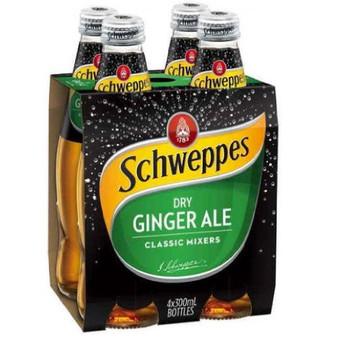 Schweppes Dry Ginger Ale Bottle 300ml