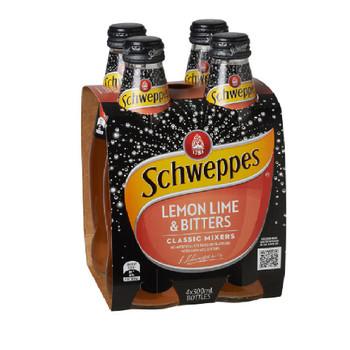 Schweppes Lemon Lime & Bitters Bottle 300ml
